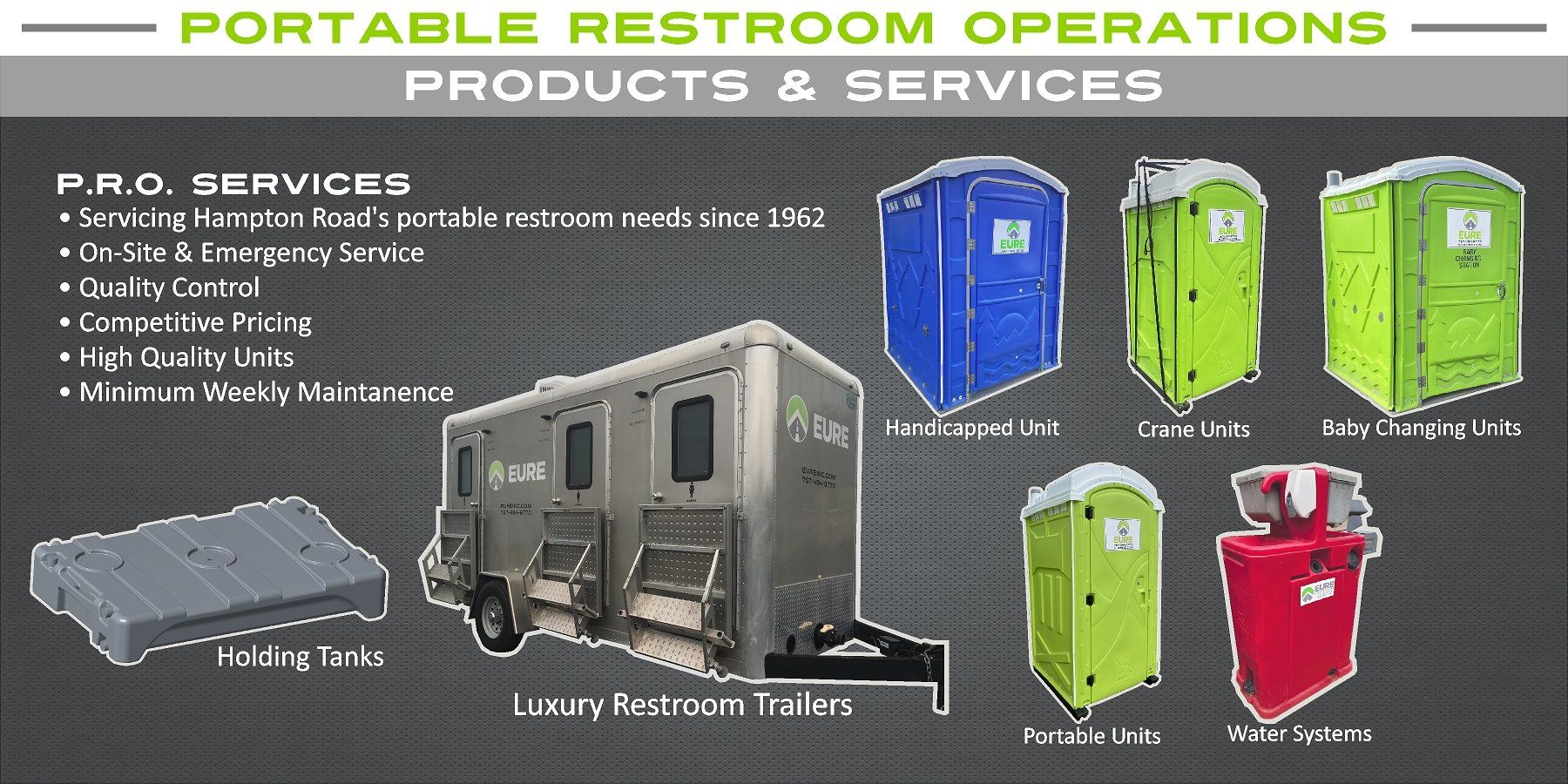 Portable Restroom Toilet Rental