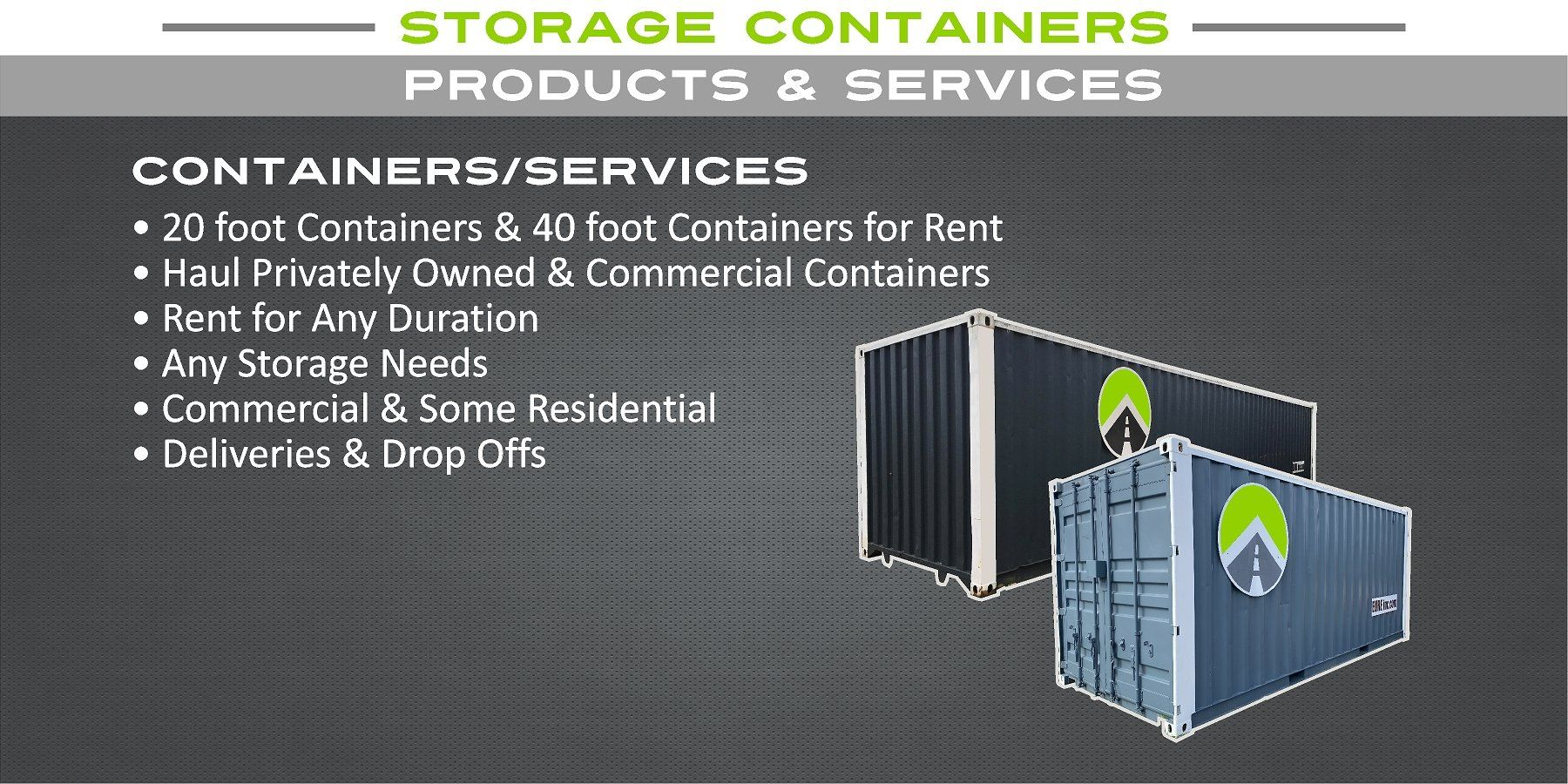 Storage Container Products & Services